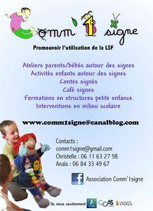 Flyer Comm1signe