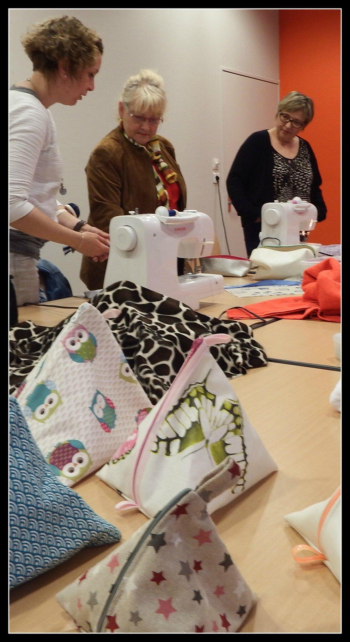 cours de couture association
