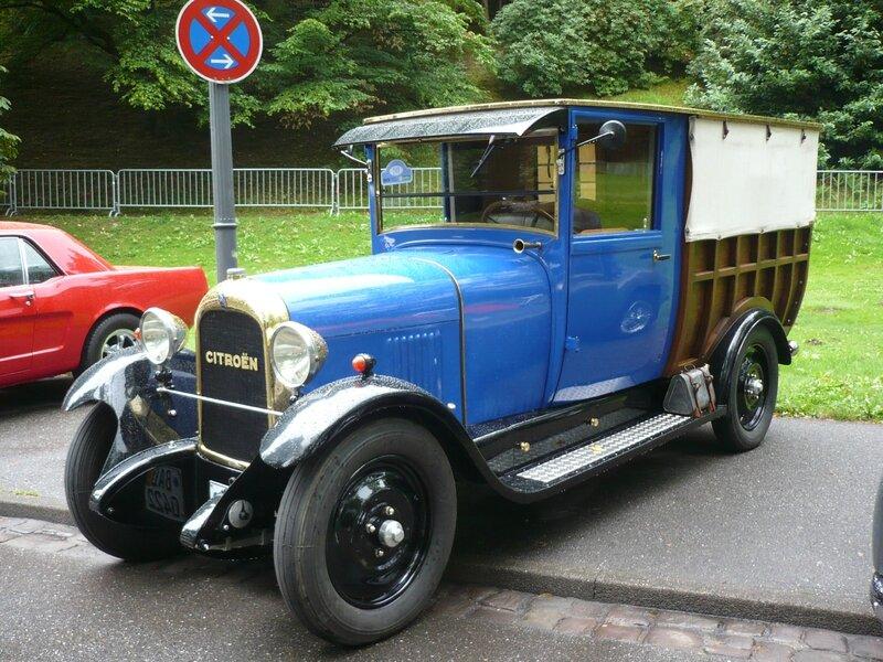 CITROËN B14 camionnette normande 1926 Baden Baden (1)