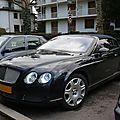 Bentley continental gtc cabriolet 4 places