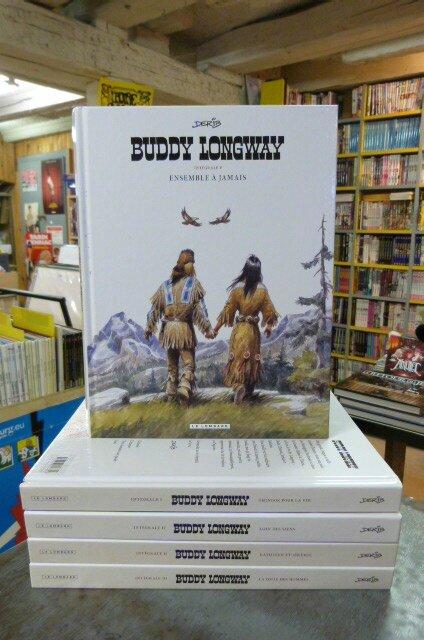 Intégrale Buddy Longway de Derib, 5 volumes 4 à 5 histoires par volume, 16€ pièce