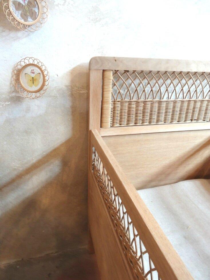 Commode ann es 50 tous les messages sur commode ann es for Peindre un lit en bois