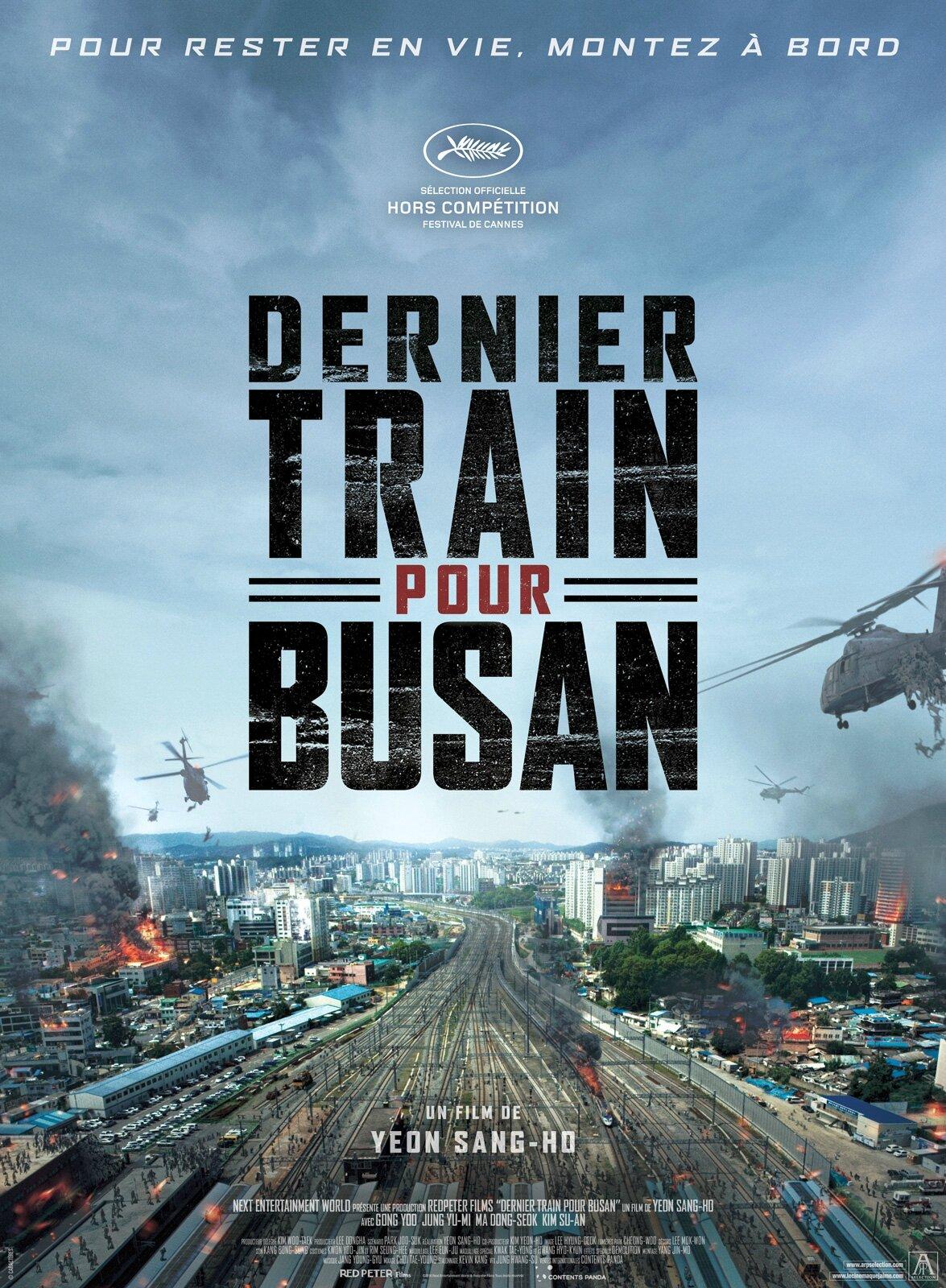 Dernier train pour Busan, des zombies à grande vitesse