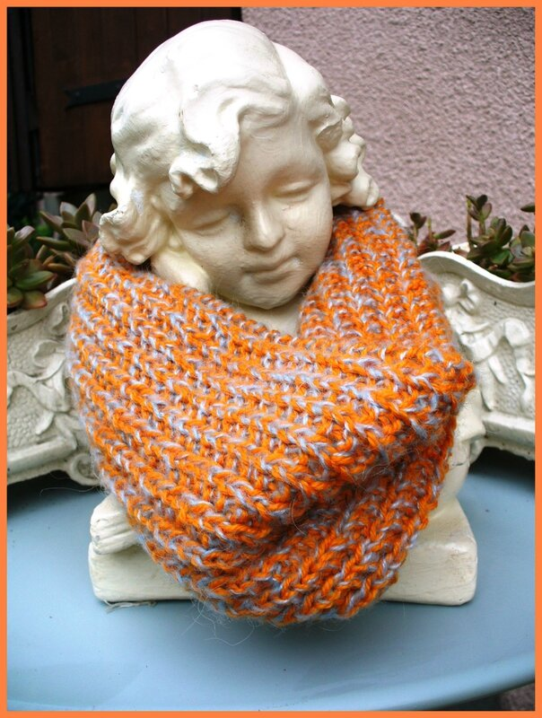 Snood orange