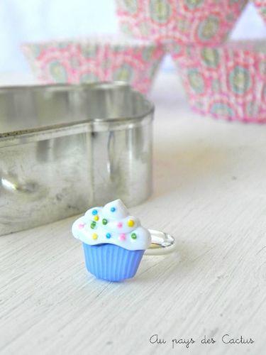 Cupcake ring Au pays des Cactus