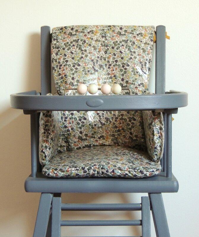 Coussin de chaise haute Demeure des Anges