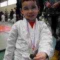 Rayan, médaille d'or de judo