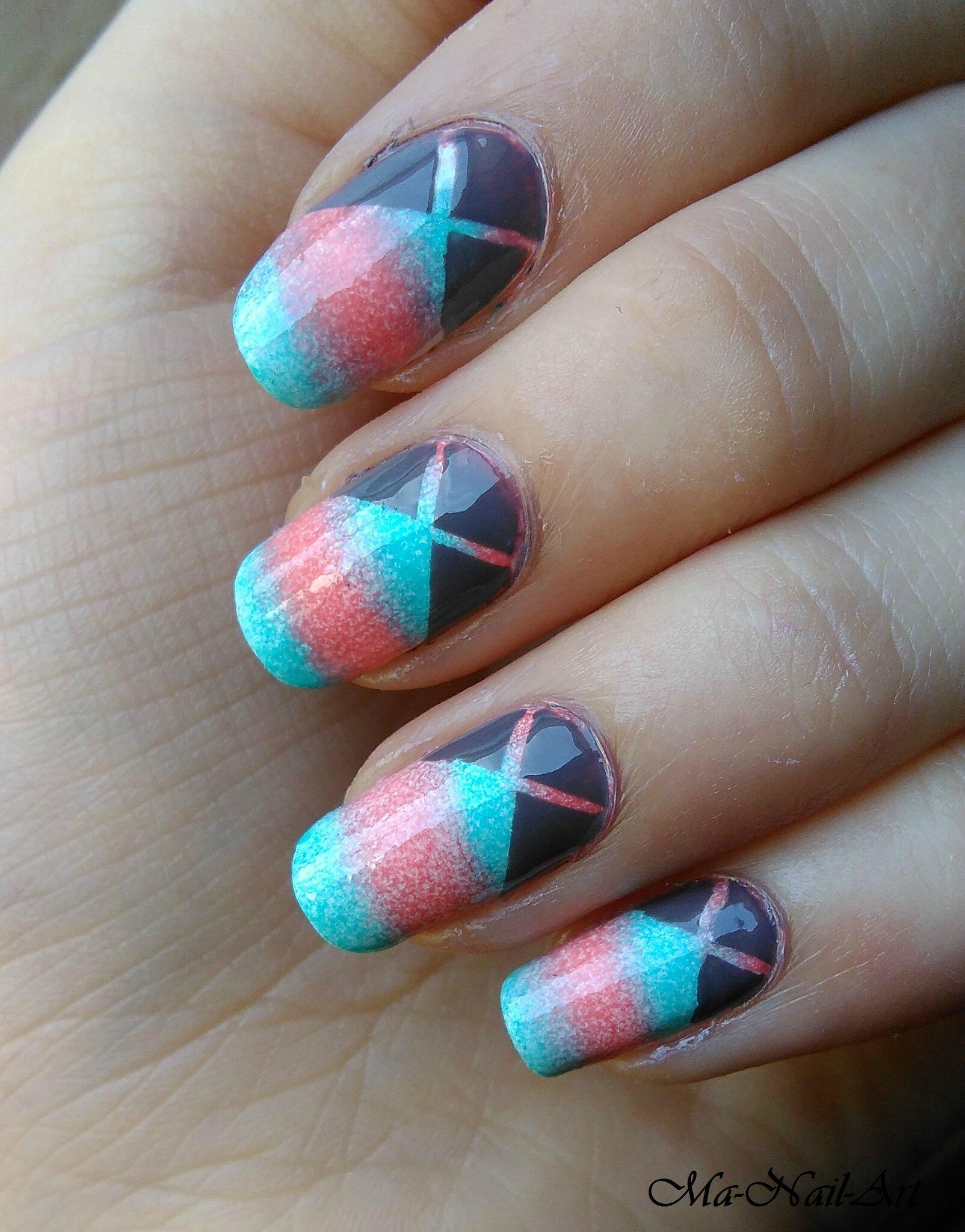 Img 20150510 135243 - Nail art bleu ...