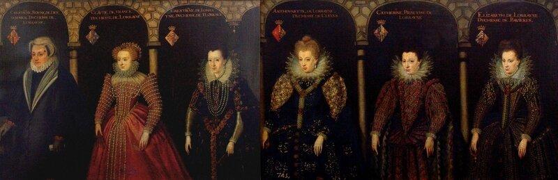 Princesses de la maison de Lorraine, musée du Prado