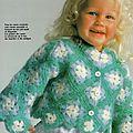 Crochet : pull douceur pour fillette