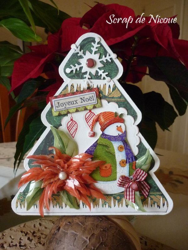 Boite cadeau Sapin de Noël