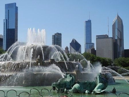 la fontaine de chicago
