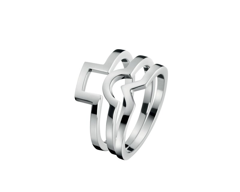 FW15_CalvinKlein_Jewelry_Rings_3x Silver_POD_EUR