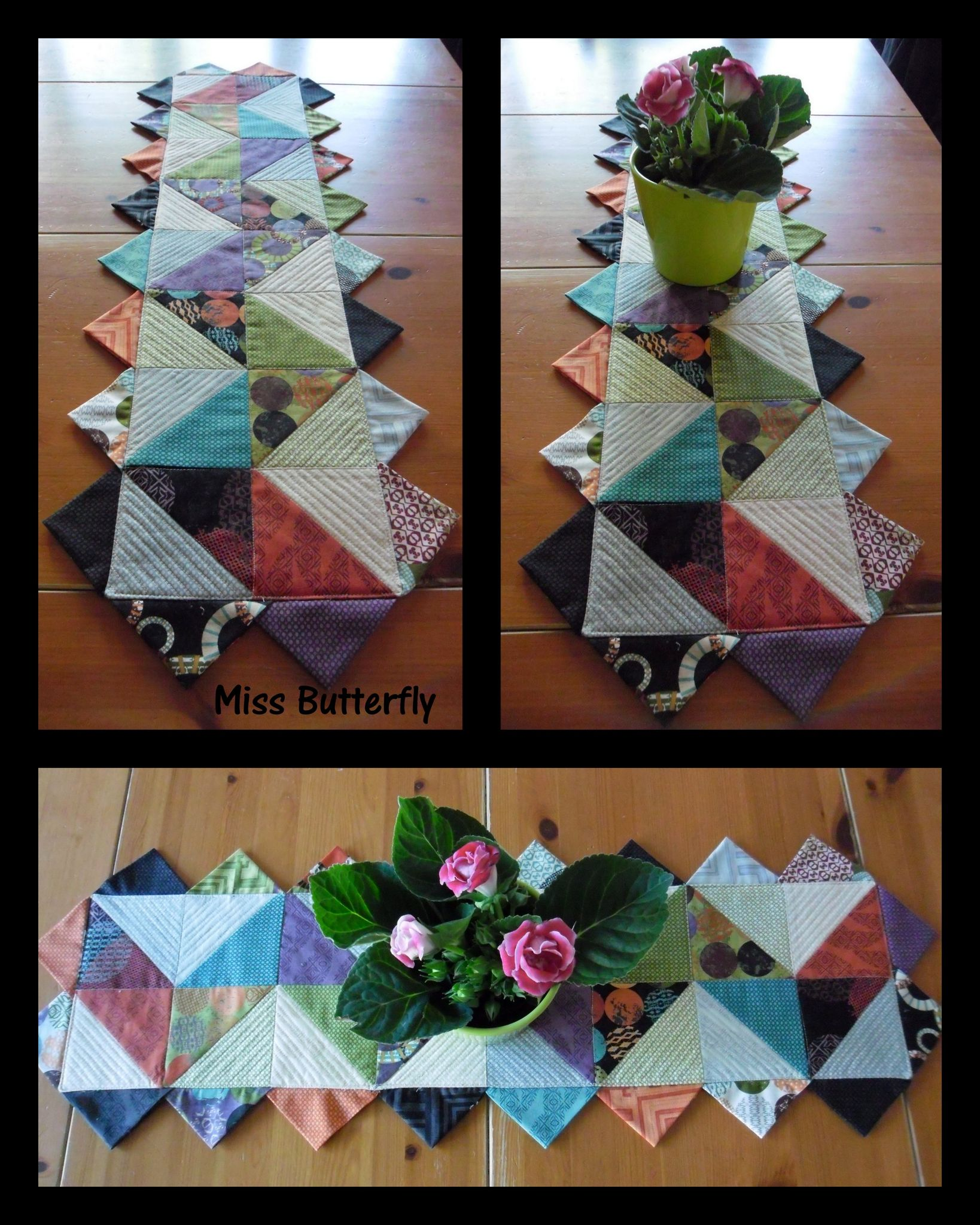 Triangle Table runner