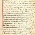 Marcel proust (1871-1922). manuscrit autographe