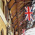 Londres , Victoria Station-caméras