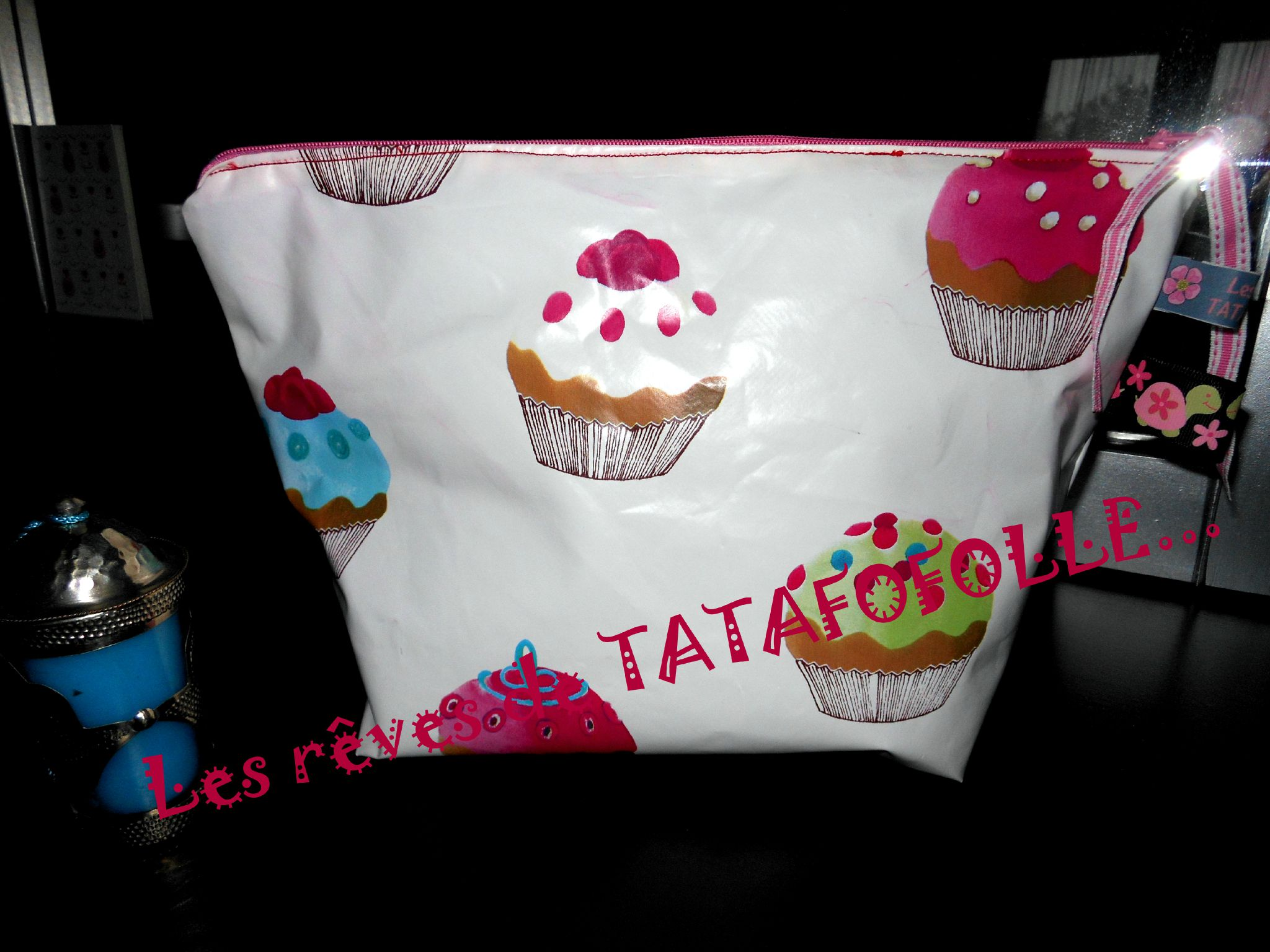 Modele Cup Cake En Tissu