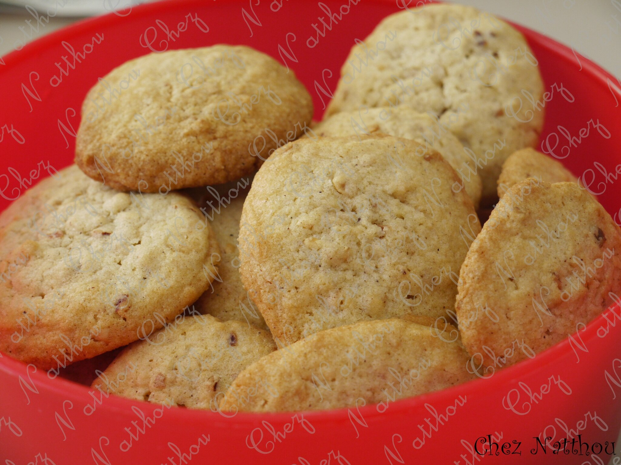 Cookies pralin canelle