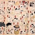 Cats_suggested_as_the_fifty-thee_stations_of_the_Tokaido