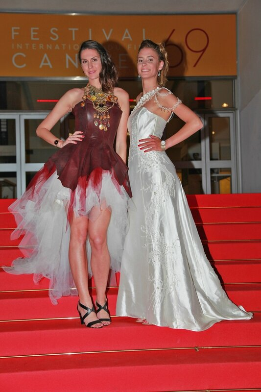 Cannes red carpet ABE Fashion Design Paris