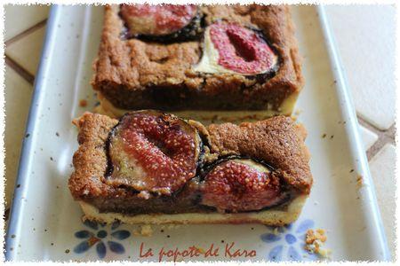 tarte aux figues part