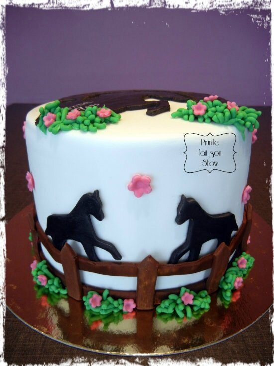 gateau cheval prunillefee 2