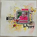 Page girly happy !