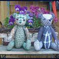 Petits ours articulés