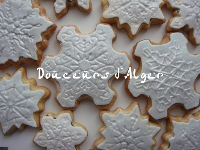 biscuits flocon de neige