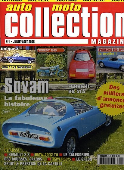 AutoMotoCollection-n°1/juillet-2006