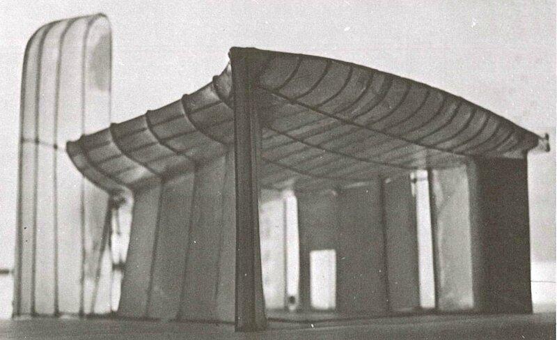 Photo Maquette en fil LC Ronchamp Lecture d'une architecture