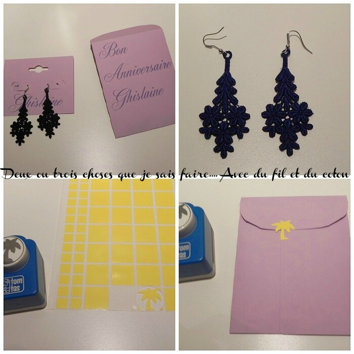 collage boucles