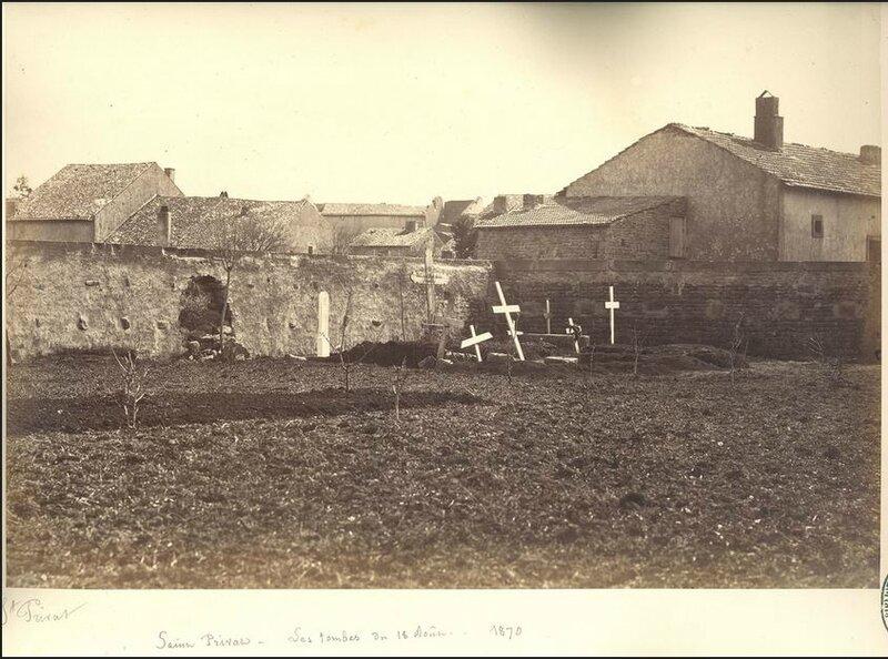 saint-Privat, les tombes du 18 août (Malardot)