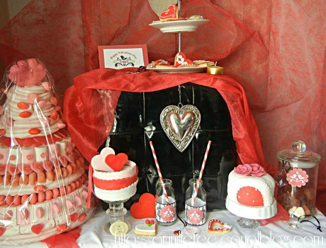 sweet table st valentin prunillefee