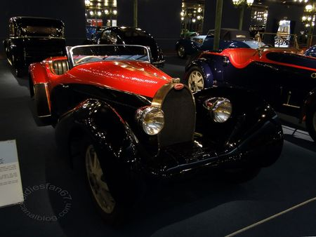 Bugatti type 55 roadster 1935 Musée National de l'Automobile de Mulhouse, collection Schlumpf 1