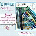 Grand jeu concours de la rentrée 2015 avec sylvette en goguette !!