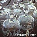 6 verres (1,50€)