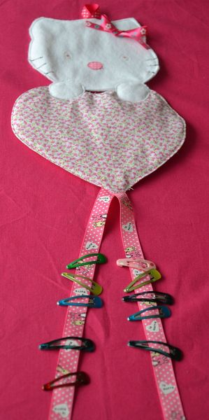 Porte barrettes Hello Kitty-5