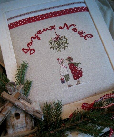 Couple Joyeux Noël complet