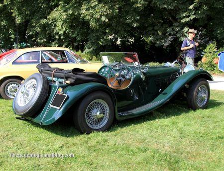 Jaguar type SS100 de 1938 (34ème Internationales Oldtimer meeting de Baden-Baden) 02