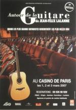 CPM Spectacle Autour de la guitare 2007 JF Lalanne, Casino de Paris
