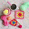 Tricot graphie ~ diy de bonnet pour yarnbombing