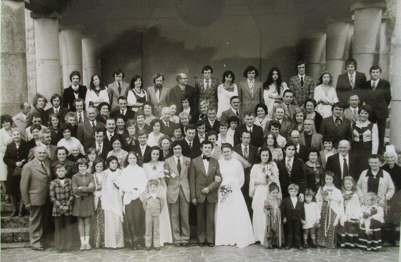 1970 Mariage de Georges jaouen