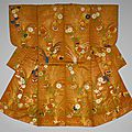 Noh theater robe, karaori type, japan, 18th century