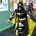 Batgirl et mini Batgirl