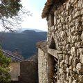 Gras -maison de pierres