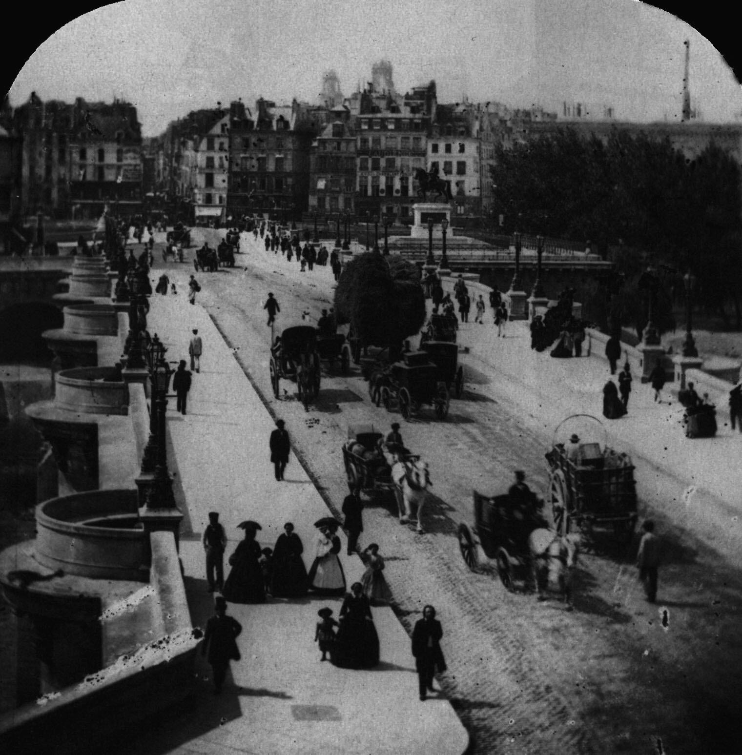 1860 le Pont-Neuf