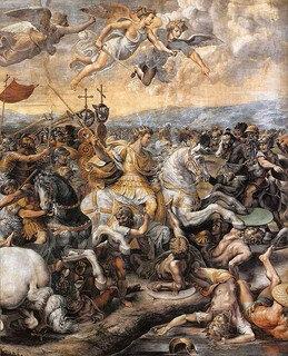 Rel-Constantin - Bataille au Pont de Milvius en 312 de EC
