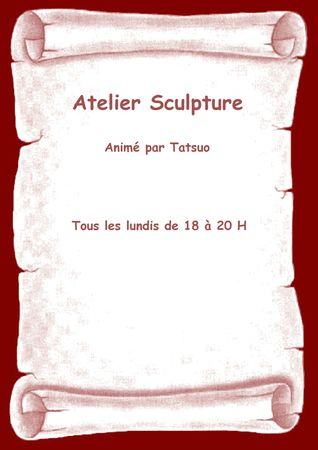 Affiche sculpture