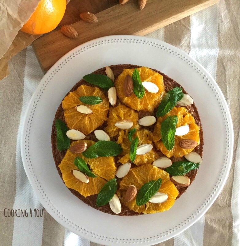 gâteau Péruvien au quinoa et à l'orange 015